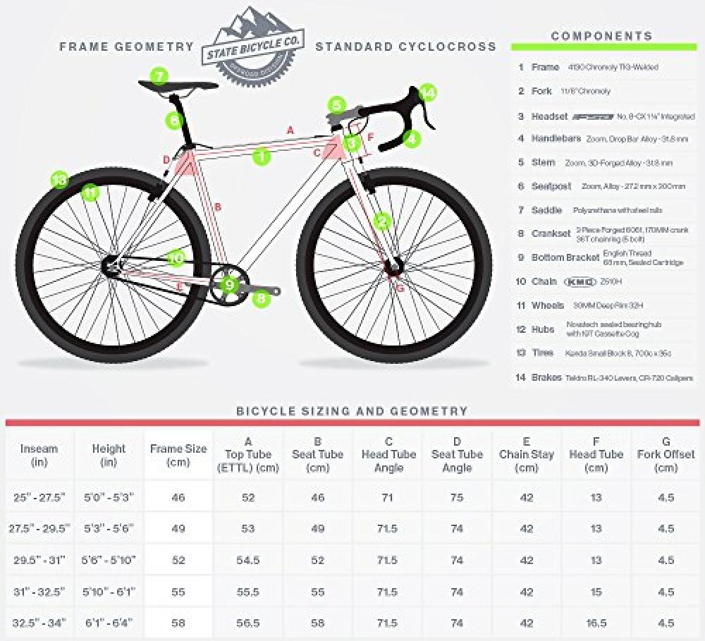State Bicycle Offroad Division Single Speed Cyclocross Standard