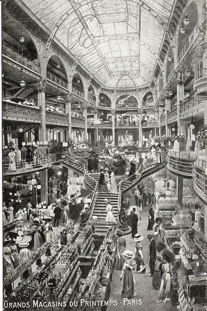 Printemps haussmann paris in 1905 gustave laguionie succeeds jules jaluzot the creator of - Magasin le printemps paris ...