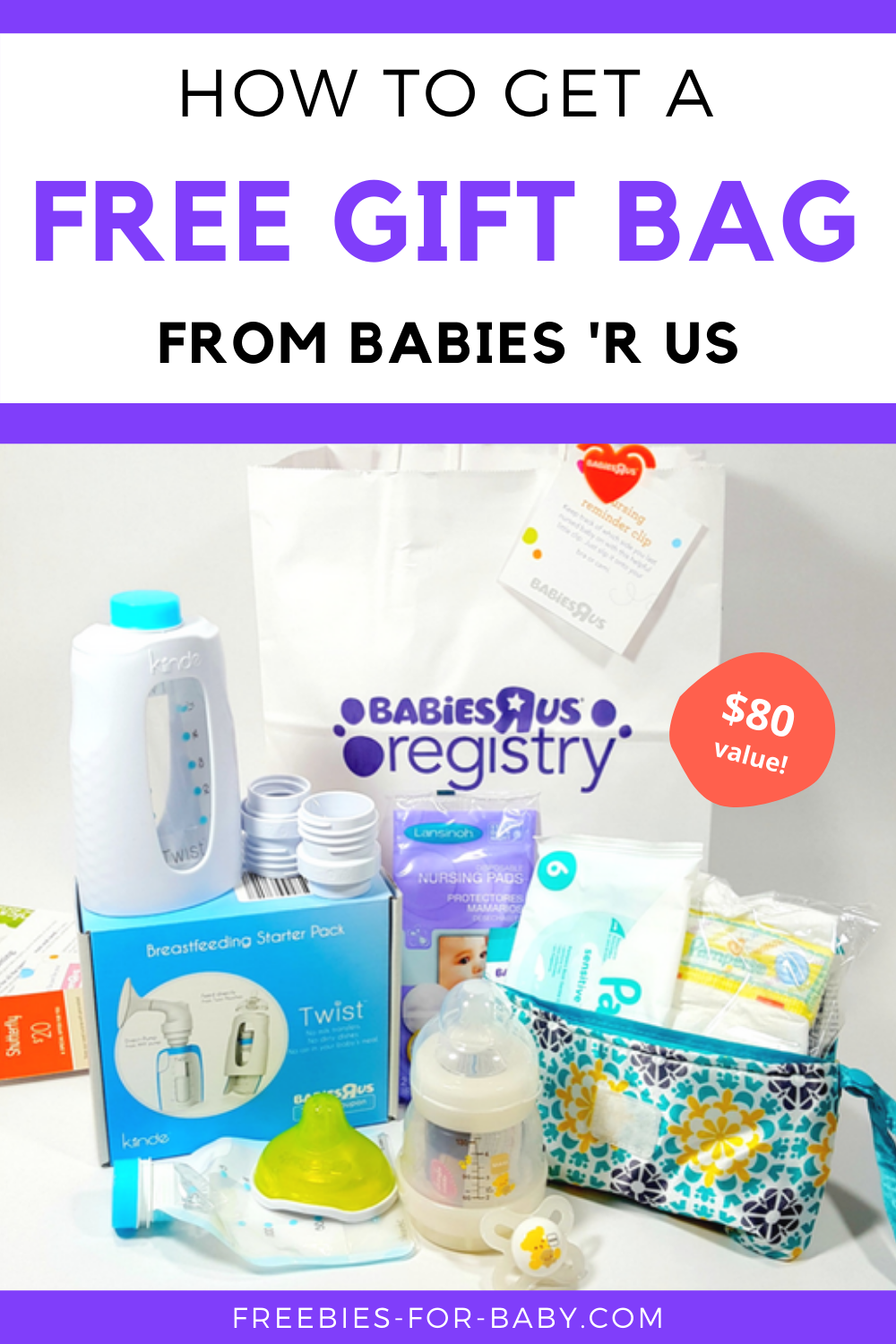 Free Babies R Us Registry Gift Bag What You Ll Get Free Baby Stuff Baby Registry Gift Bags Free Baby Gifts