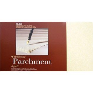 Strathmore Aged 11 X 17 Parchment Paper Pad Shop Hobby Lobby Calligraphy Supplies Paper Pads Strathmore