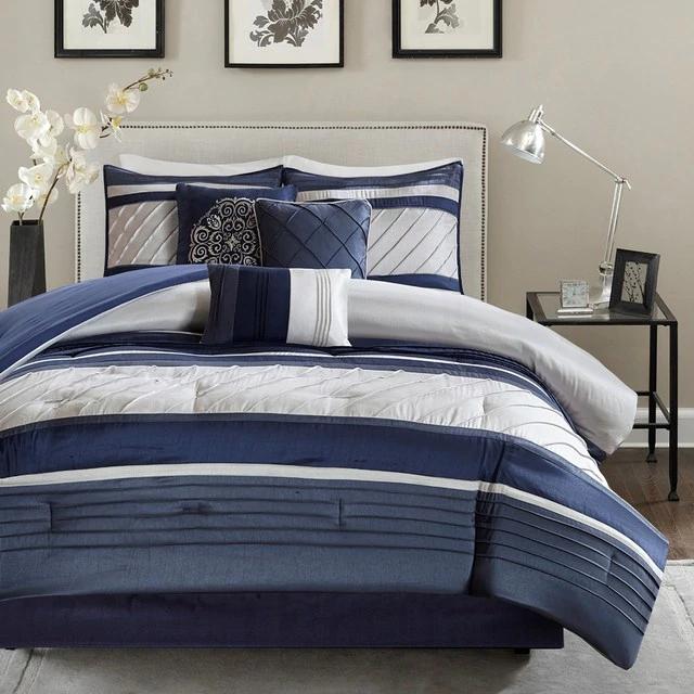 Blaire Comforter 7 Piece Queen Size Set In 2020 Comfortable Bedroom Comforter Sets Bed Comforters
