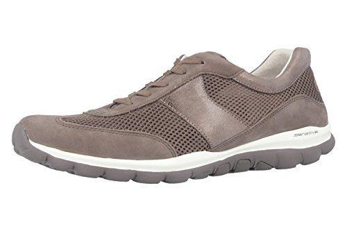 GABOR - Rolling Soft - Damen Halbschuhe - Grau Schuhe in Übergrößen,  Größe:43