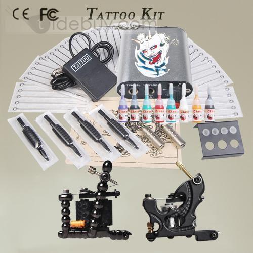 Taidobuyはお客様のために高品質な2デリケートガンパワーサプライ8インクニードルタトゥーキットを提供いたします。その価格は7904円で買えます。