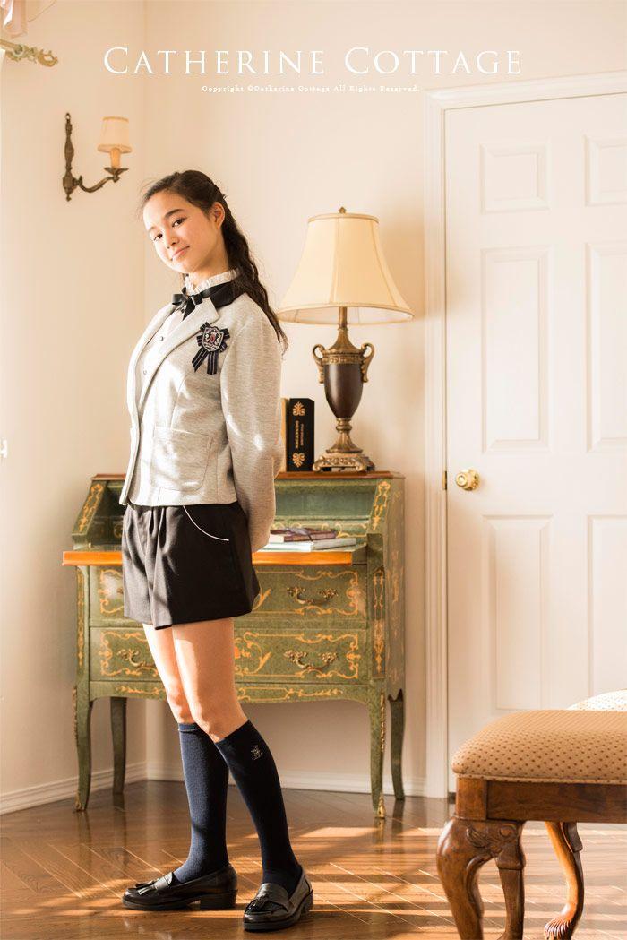 53ebfa512ef86 子供スーツ キュロットパンツソフトスーツ3点セット  ジャケット パンツ ブローチ   子供服 卒業式 キッズ 女の子 フォーマル ジュニア 卒服  140 150 160 165 黒 ...