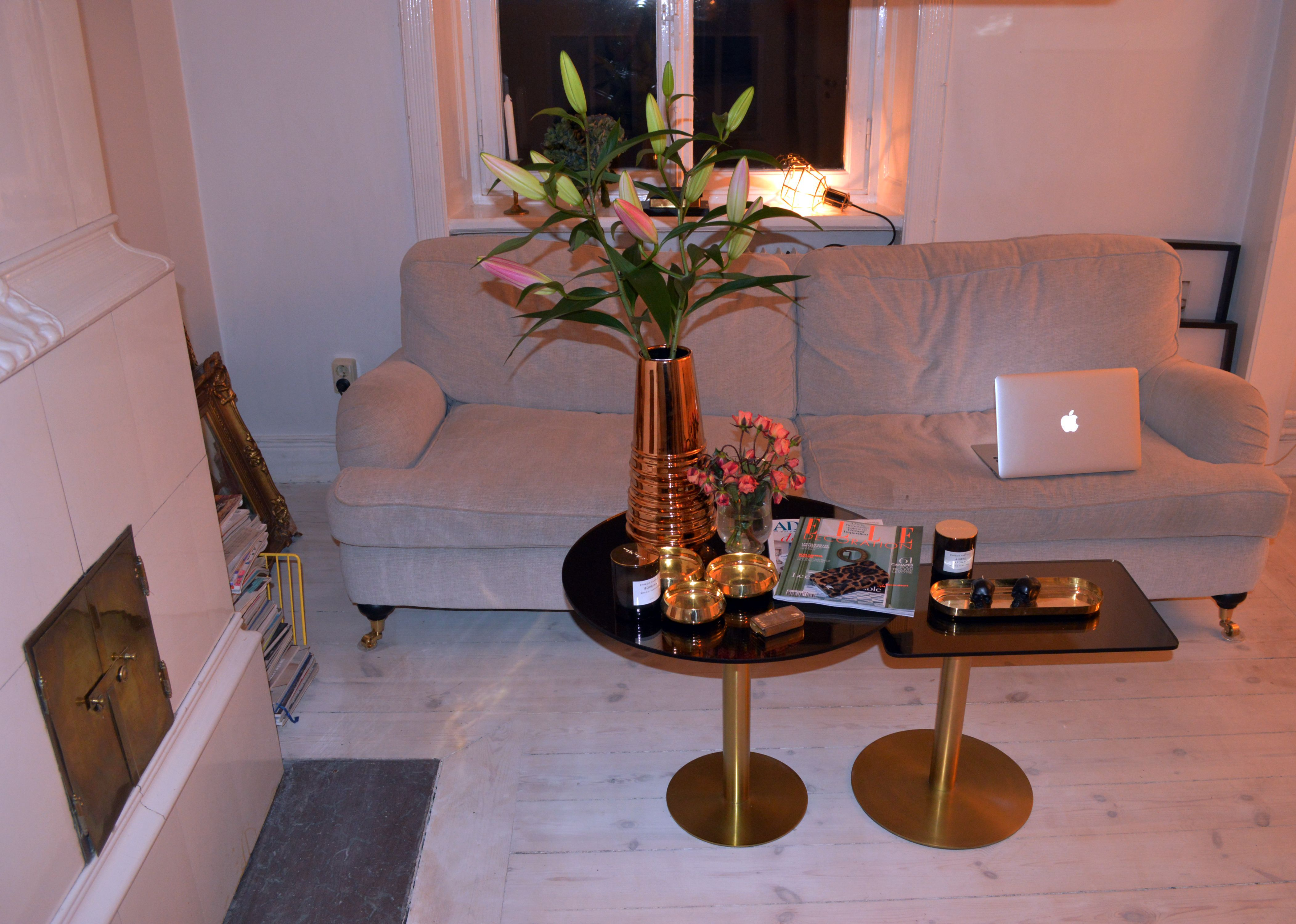 Love My New Flash Tables From Tom Dixon Interior Pinterest