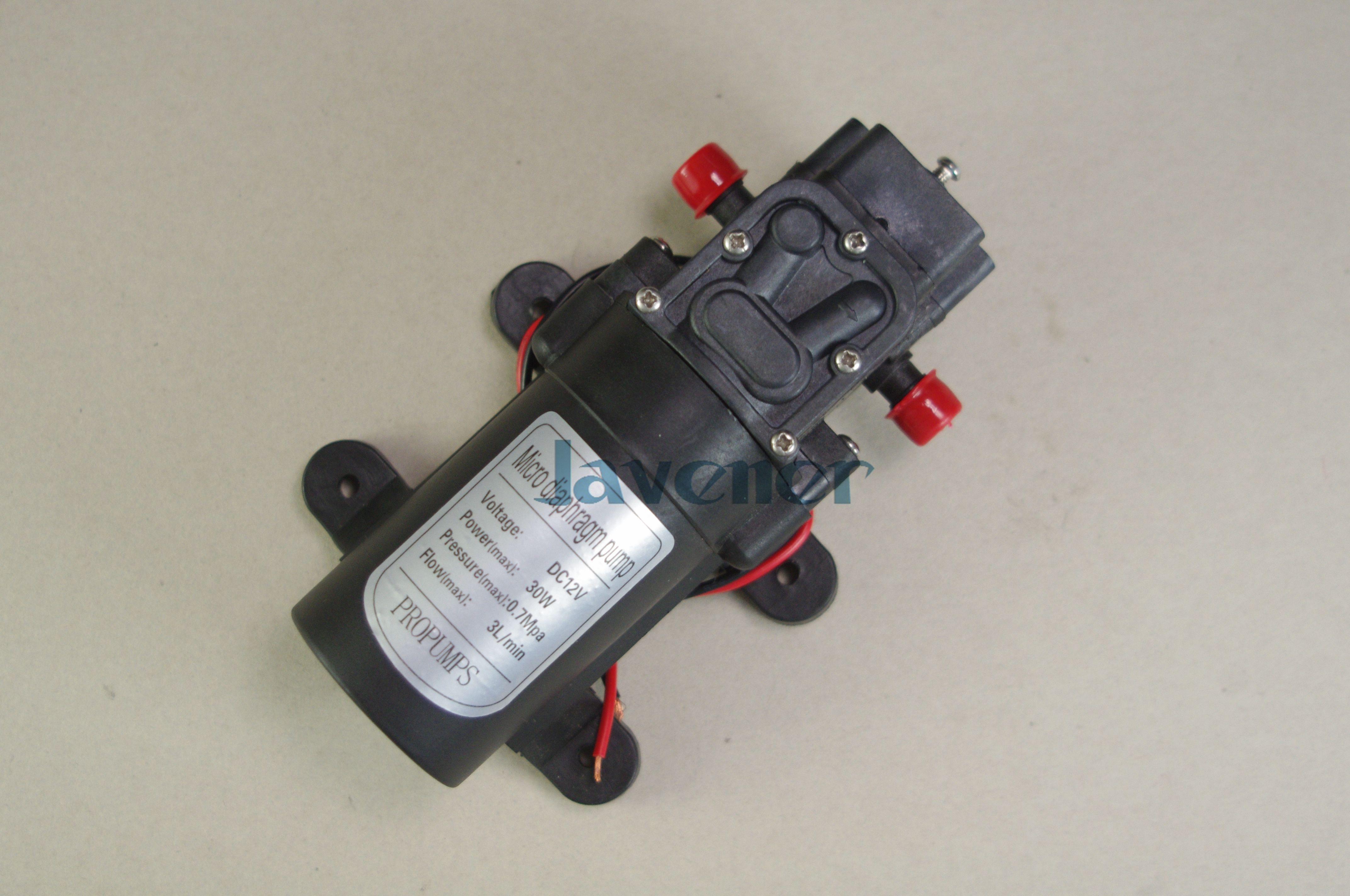 12v Dc Electric Mini Diaphragm Pump Self Priming Booster Pumnp Low