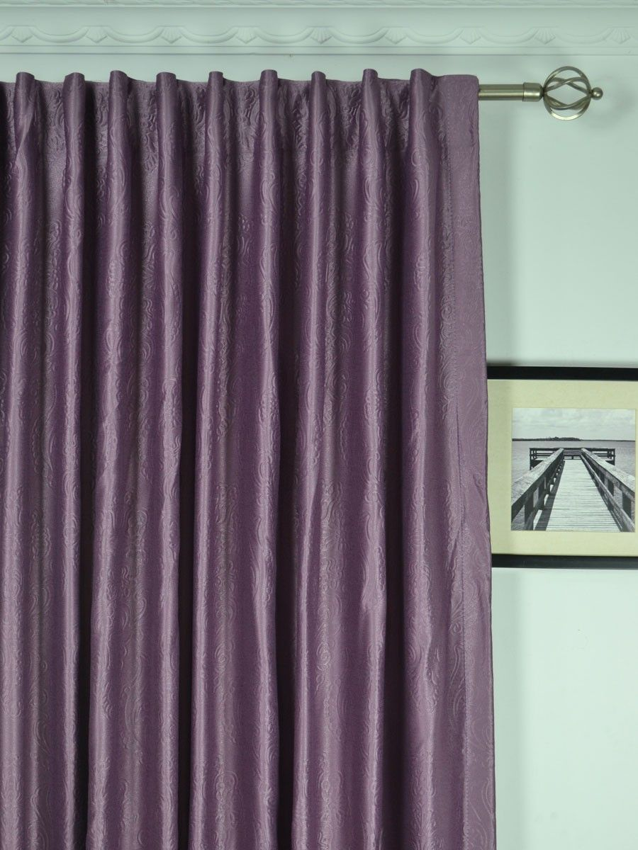 Extra Wide Swan Europe Floral Back Tab Curtains 100 120 Inch