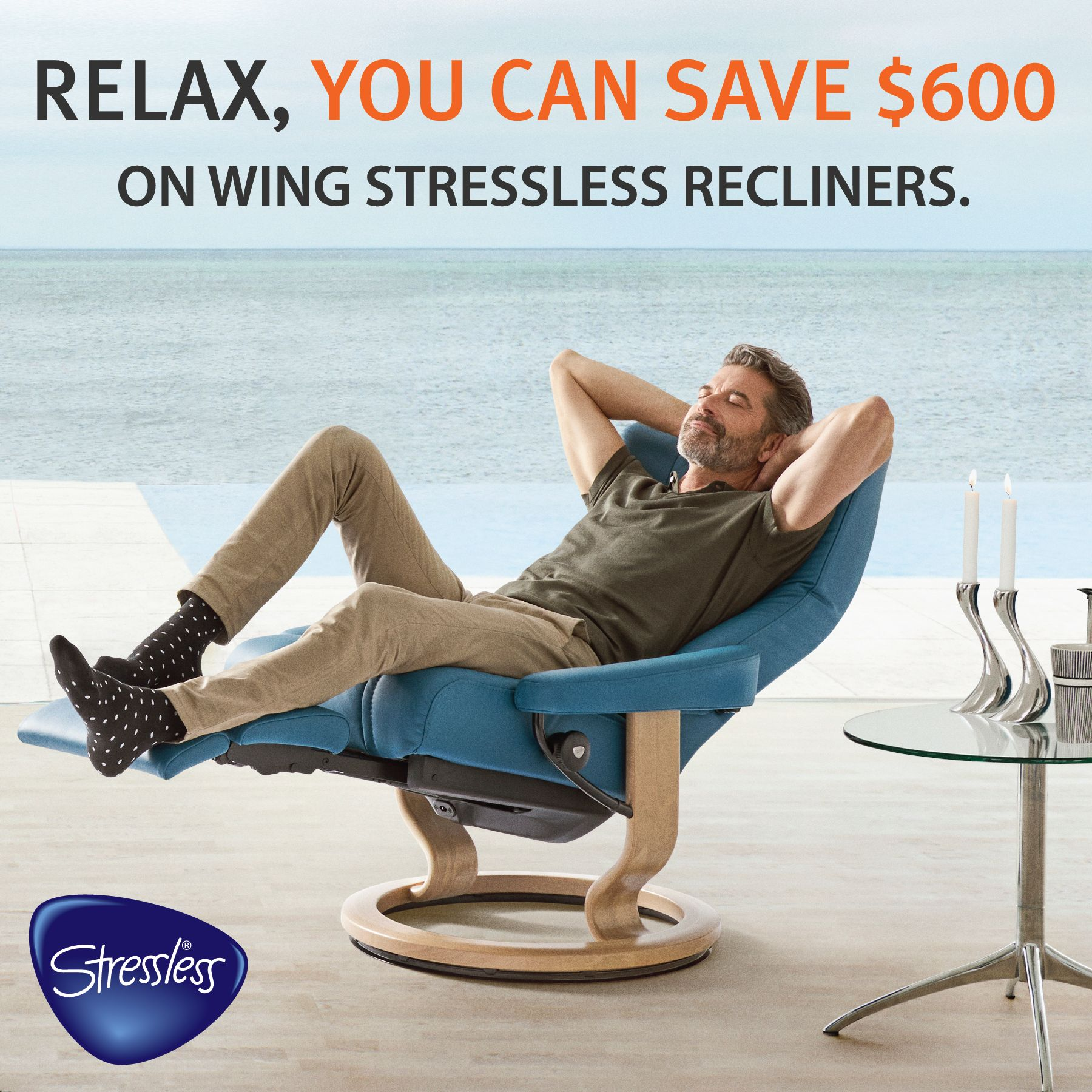 Our Stressless Wing Recliners Sale is going on now!