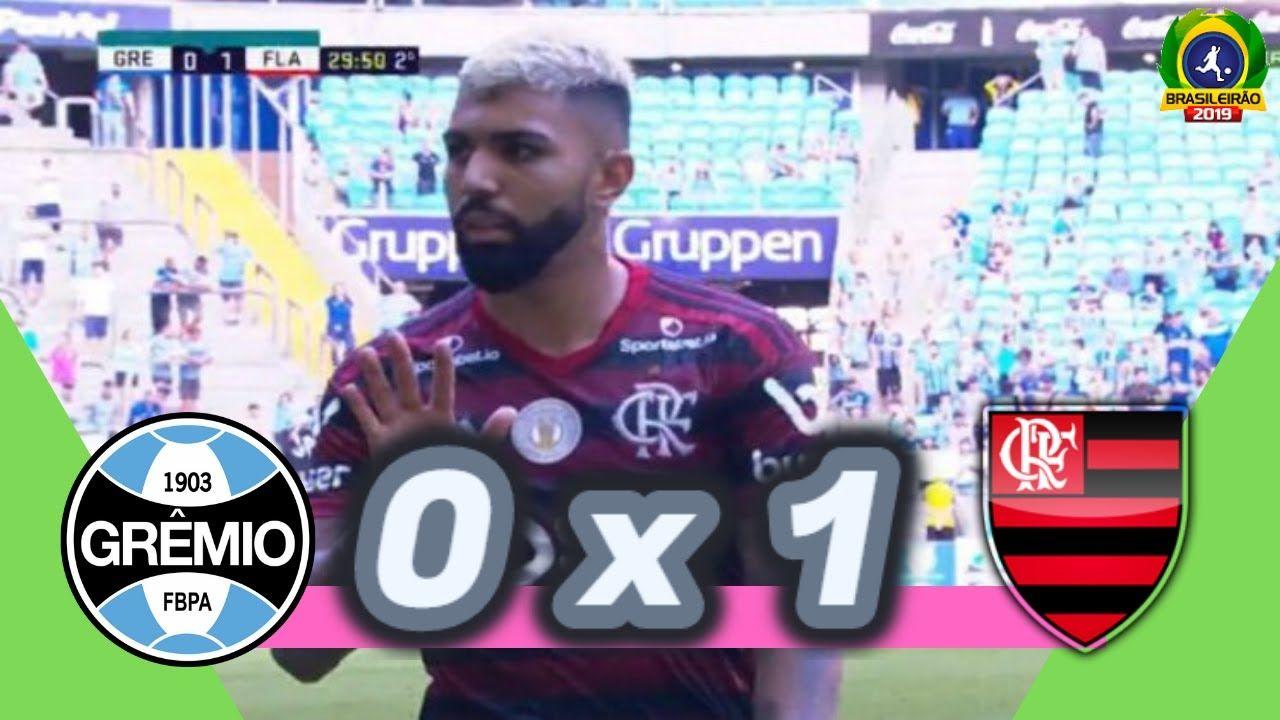 Grêmio 0 x 1 Flamengo 33ª rodada Melhores Momentos