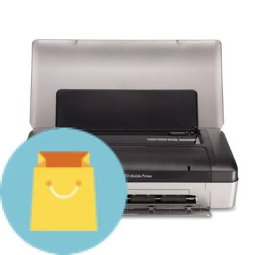 Hp Officejet 100 Portable Printer With Bluetooth Mobile Printing Cn551a Mobile Print Hp Officejet Portable Printer