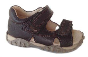0928ebde648 Arautorap (RAP) treckingsandal, brun - GODESKO - sko til børn med platfod-