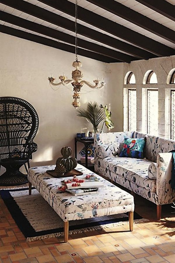fabulous anthropologie inspired living room | Anthropologie's Fall Catalog Celebrates Cultural Style At ...