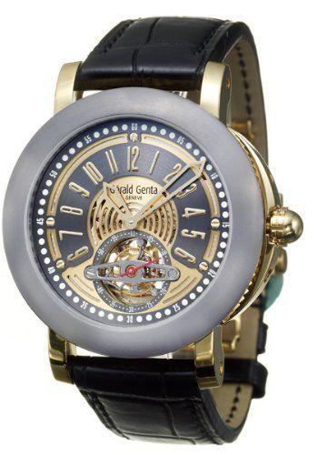 ded447c4235 Gerald Genta Arena Tourbillon Men s Automatic Watch ATR-Y-22-903-CN. Relógios  CarosArmarinhosModa ...