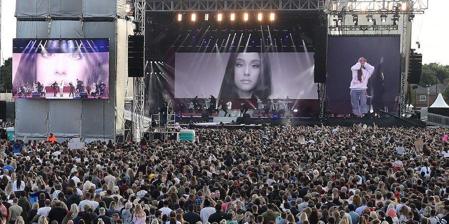 Uma noite de amor e música em Manchester: Ariana Grande e amigos homenagearam vítimas dos atentados   SAPO Mag
