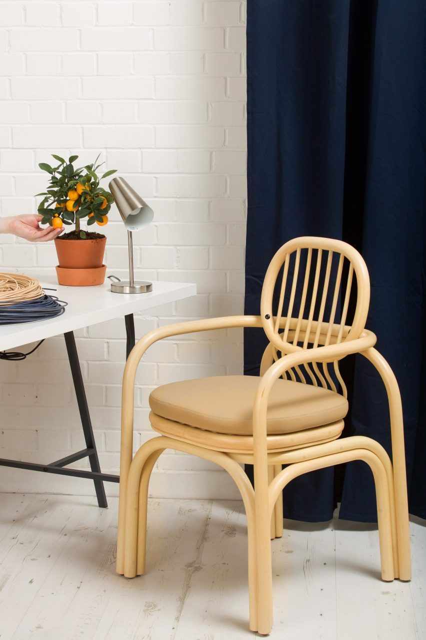 Andre Mestre Aims To Challenge How Office Chairs Look And Feel With Rattan