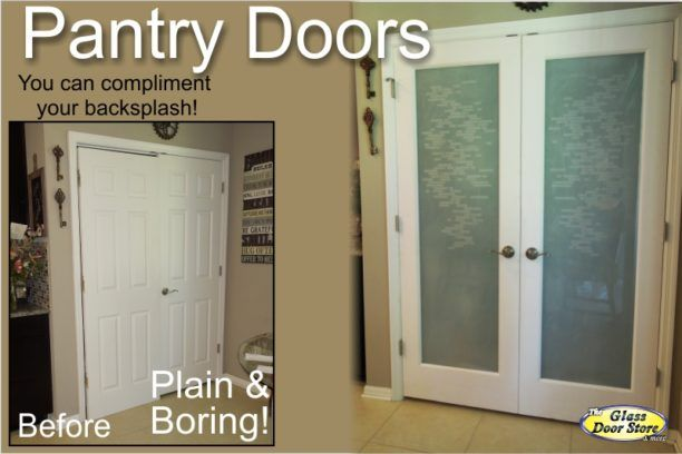Attractive Pantry Doors Can Be Ready Made Or Custom   The Glass Door Store