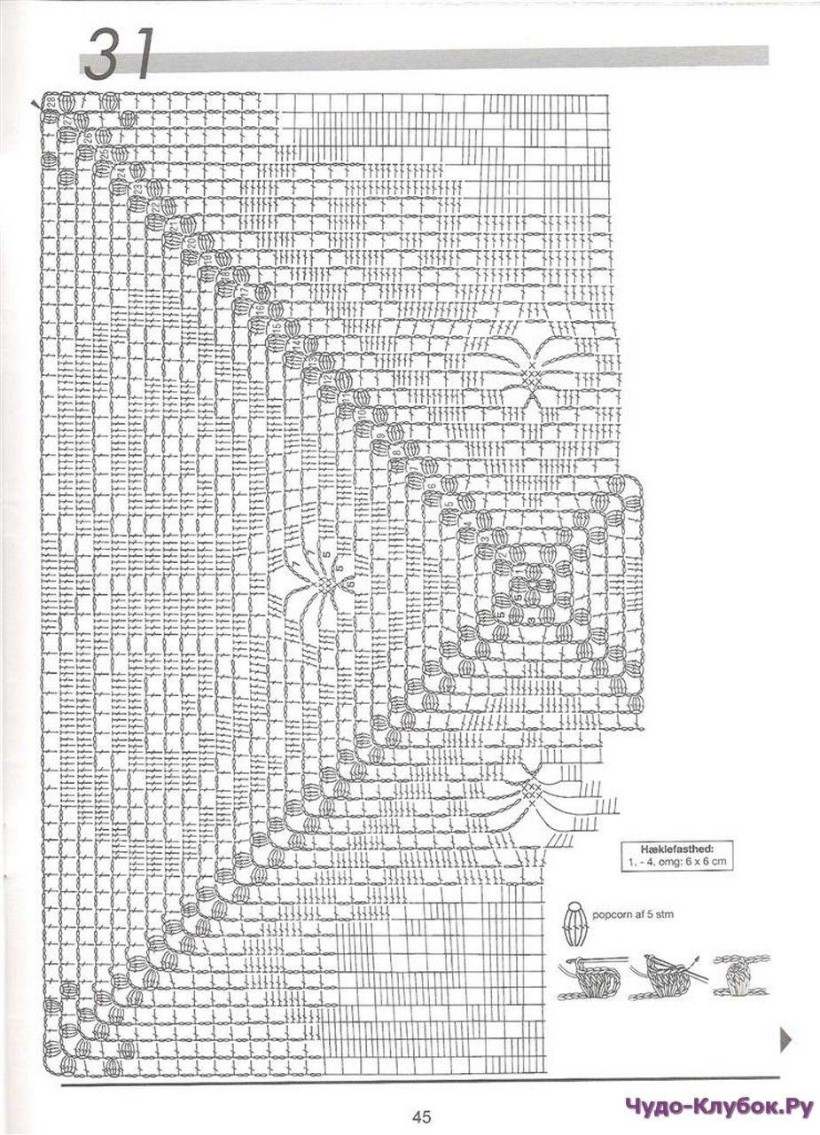 Haekling 20 | Häkelmuster, Deckchen und Stricken häkeln