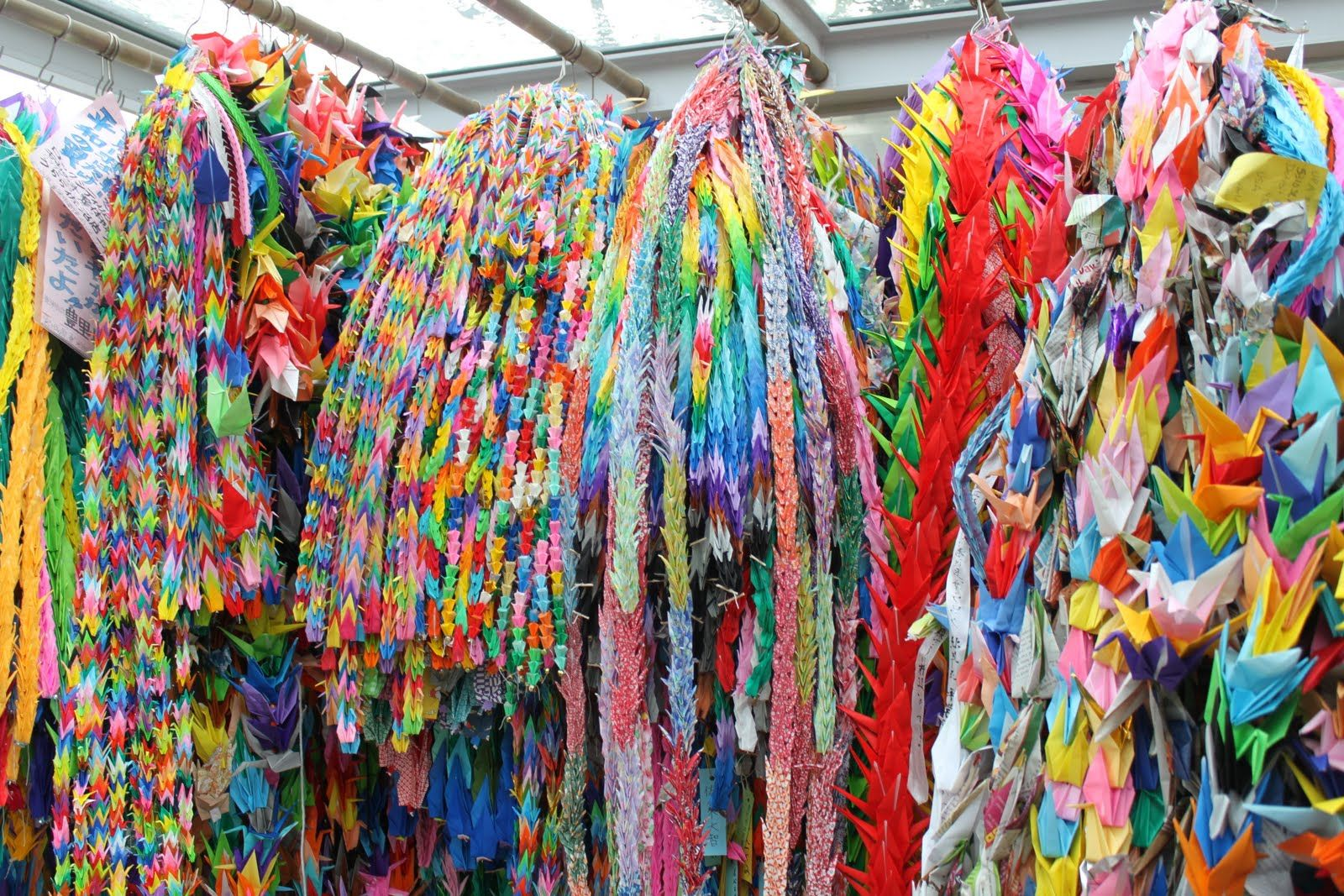 sadako sasaki memorial crane origami en el arte pinterest