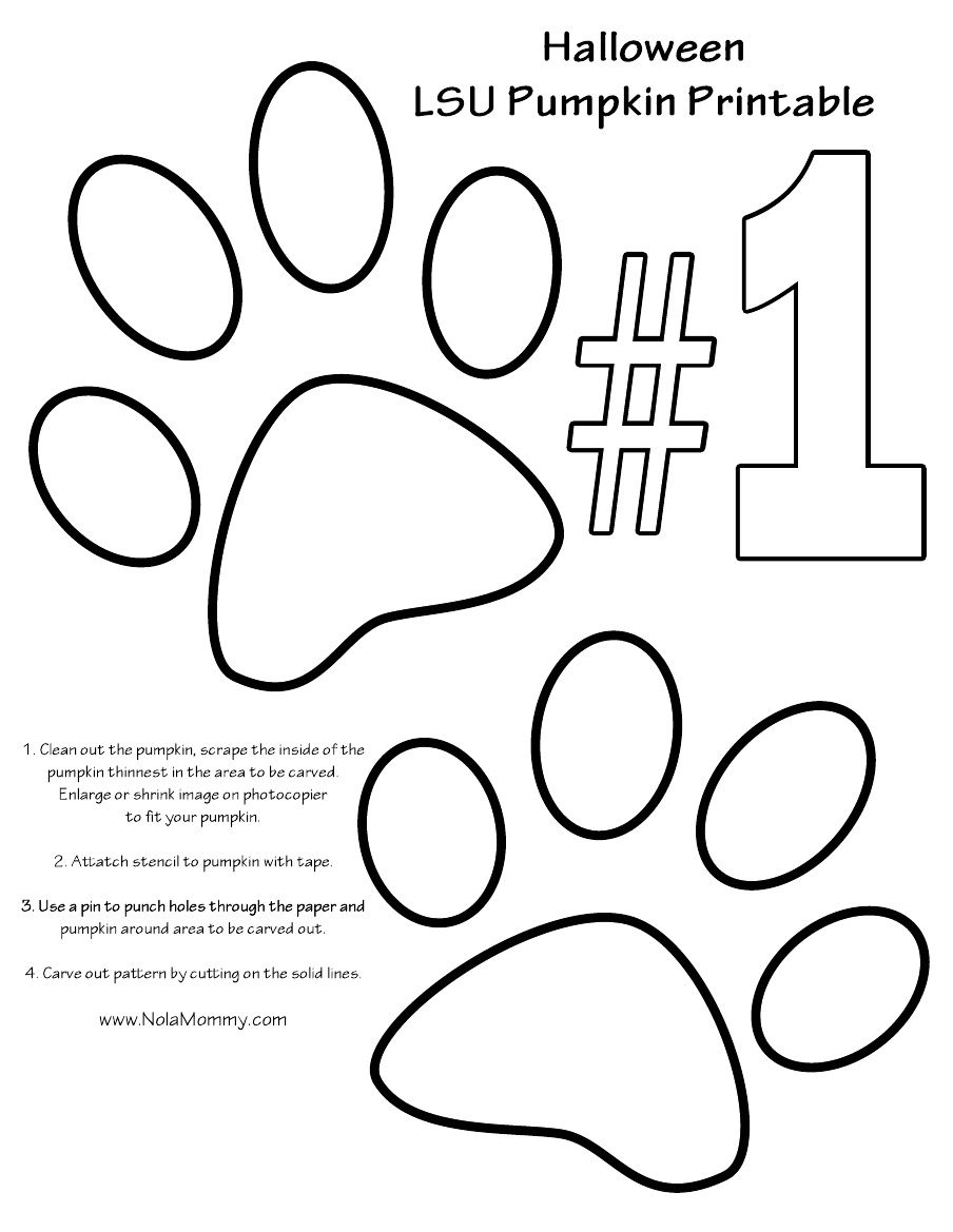 lsu pumpkin carving stencil projects to try pinterest