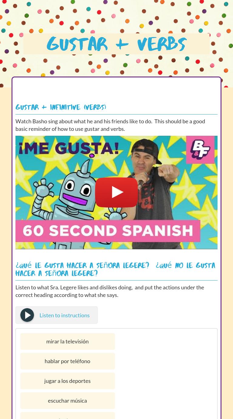 Wizer Me Blended Worksheet Gustar Verbs Gustar Spanish Activities Blends Worksheets Learning Spanish [ 1380 x 768 Pixel ]