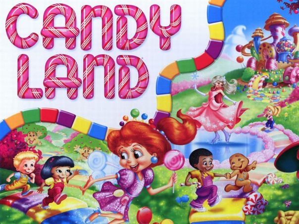 Candyland:  could use to review anything.  Make questions with answers on inside, if they get it right, they roll.