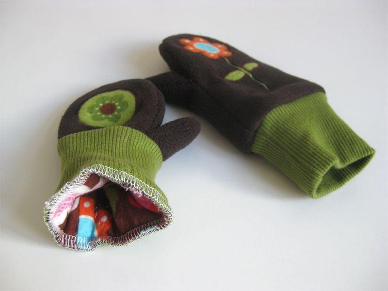 Warme Händchen | Nähen, Nähen für kinder und Handschuh