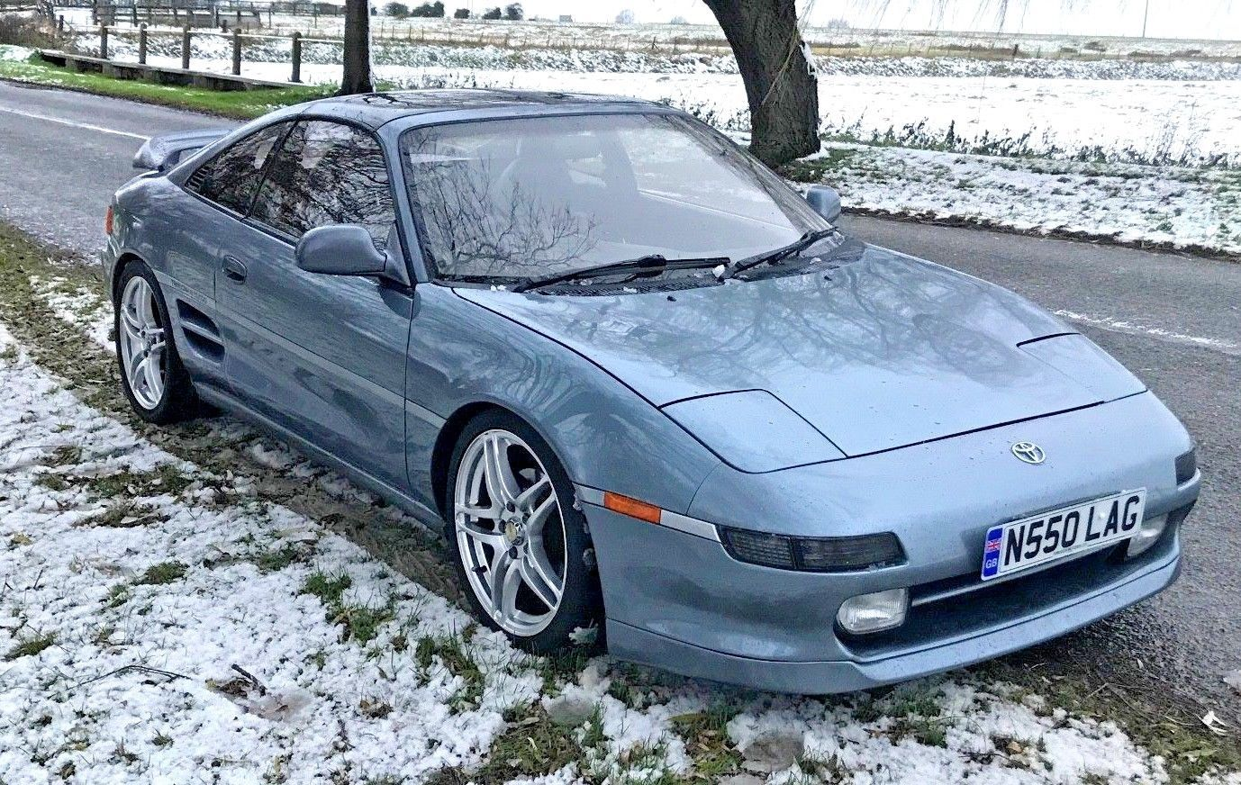 Toyota Mr2 Turbo Revision 3 Gt T-bar