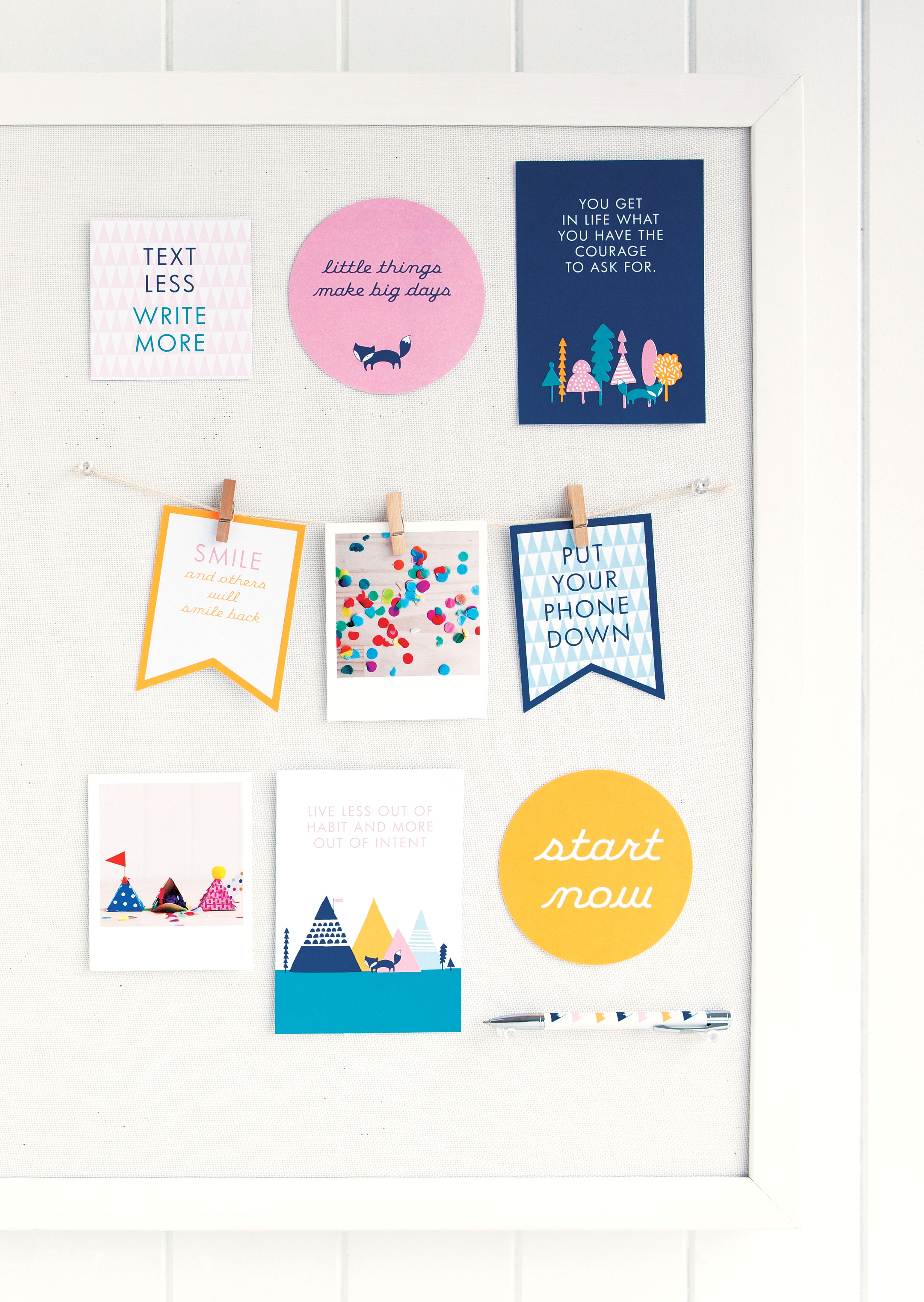 discover how to create an inspiring and motivational vision board for your desk or work space
