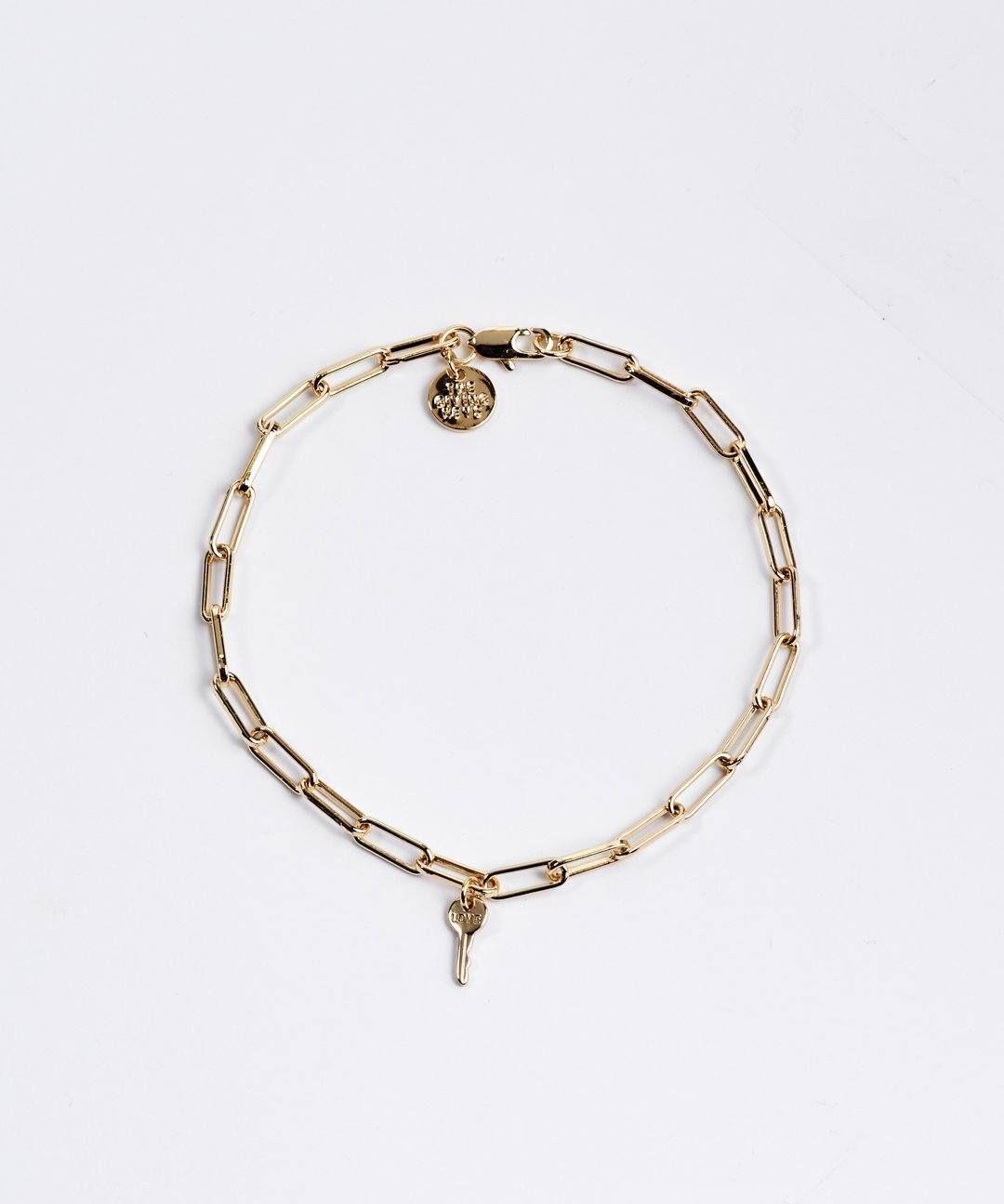 Brooklyn Mini Key Bracelet