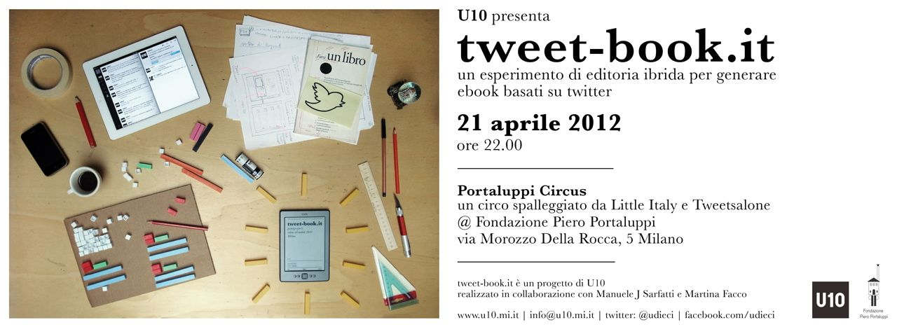 tweet-book.it is a web app that allows to publish and share twitter based ebook.