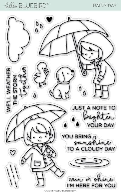 Rainy Day | Craft- Stamps/ printing | Pinterest | Colorear ...