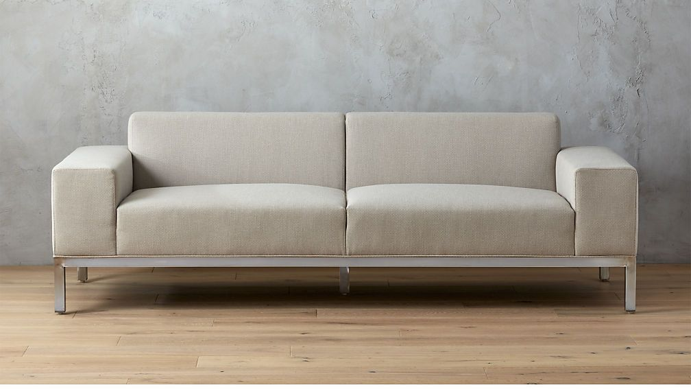 Index Natural Sofa Cb2 Sofa Natural Sofas Modern Sofa