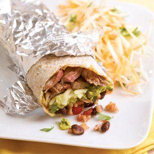 Healthy WW Friendly, Steak Burrito Recipe