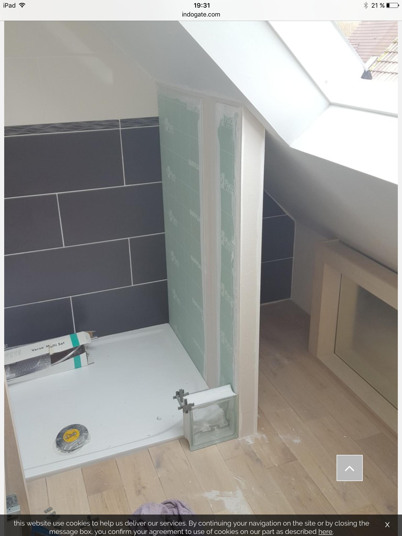 Verbouwing Badezimmer Umbau Badezimmer Dachschrage Dachboden Dusche