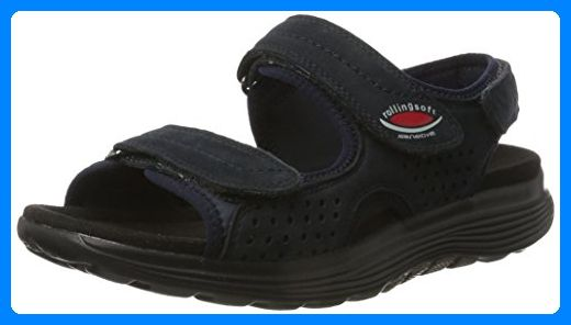 online retailer 4a5fa 13ec7 Gabor Shoes Damen Rollingsoft Offene Sandalen mit Keilabsatz ...
