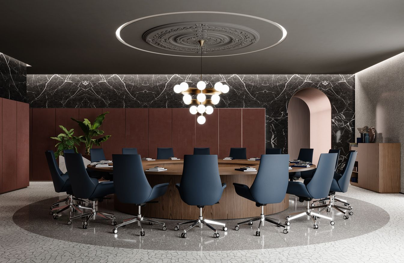 Bespoke Conf Tables Mood 04 Bespoke Conf Moderncorporateofficedesignconferencetable Mo In 2020 Meeting Room Design Office Interior Design Office Furniture Design