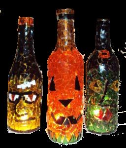 Glass As You Wish Pottery Mosaic Crafts Custom Mosaic Art Mosaic Bottles