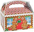 Amazon.com: Fun Express Gingerbread House Cardboard Christmas Treat Boxes - 12 Piece Pack: Toys & Games