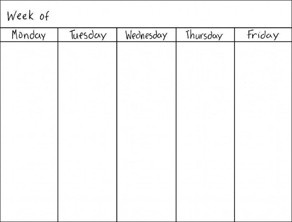Weekly Pregnancy Calendar Template #weeklyplanner #calendars