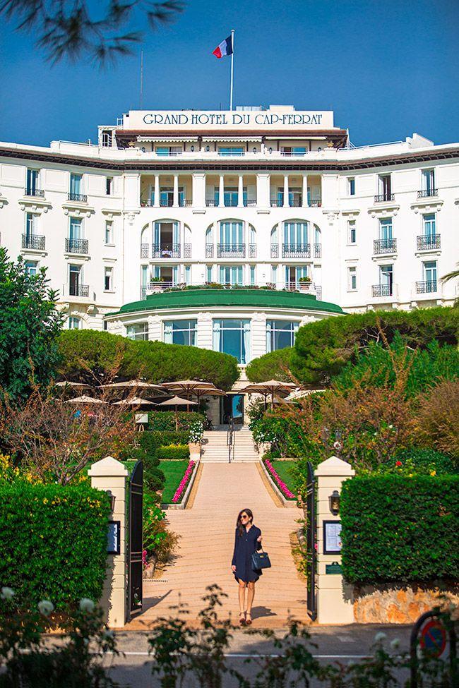 Classy Girls Wear Pearls: Grand Hotel Du Cap Ferrat