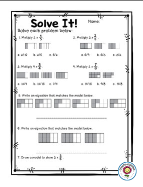 image regarding Dividing Fractions Games Printable identified as Multiplying and Dividing Fractions Pursuits Fractions