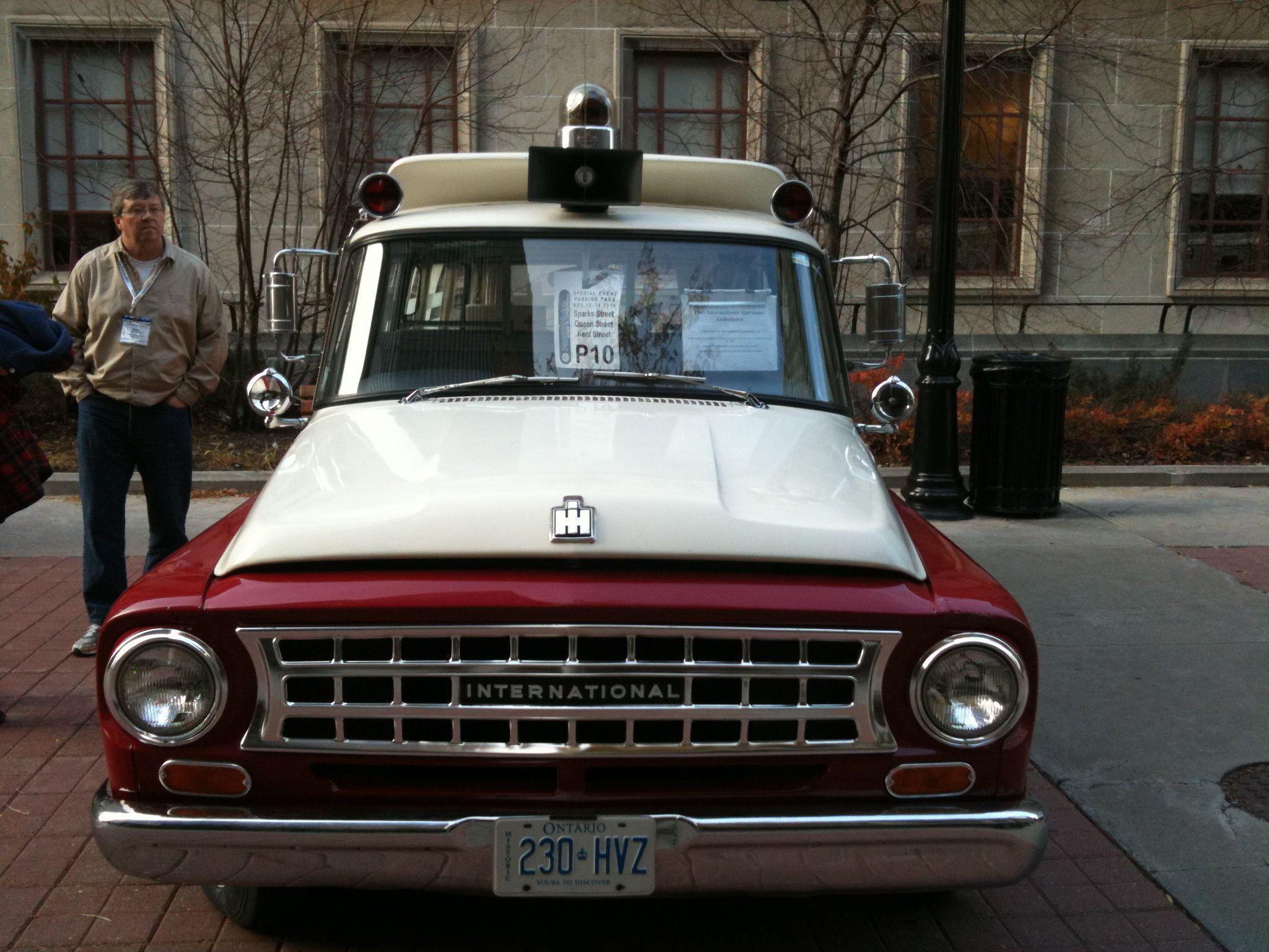 Vintage ambulance collection W. Byrdny Riverview West Kildonan ...