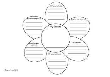 Use this cute flower as a 'getting to know you' activity