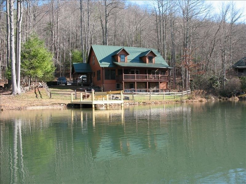 Luxury lakeview mountain cabin brevard asheville Smoky mountain nc cabin rentals