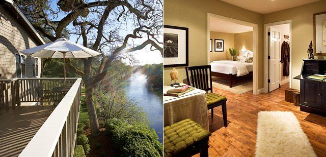 Milliken Creek Inn Napa Luxury Hotels In California S Wine Country