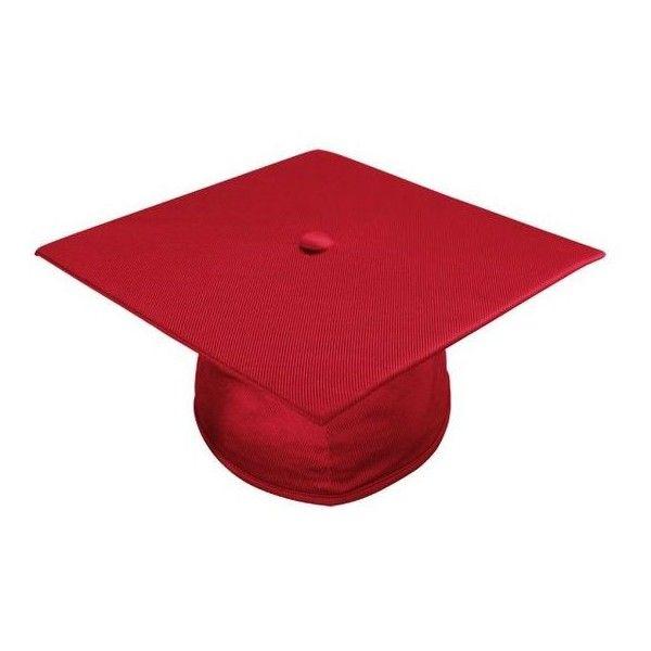 Shiny Red Graduation Cap Elementary School Graduation Caps Acadima Liked On Polyvore Featu Red Graduation Cap Red Graduation Elementary School Graduation