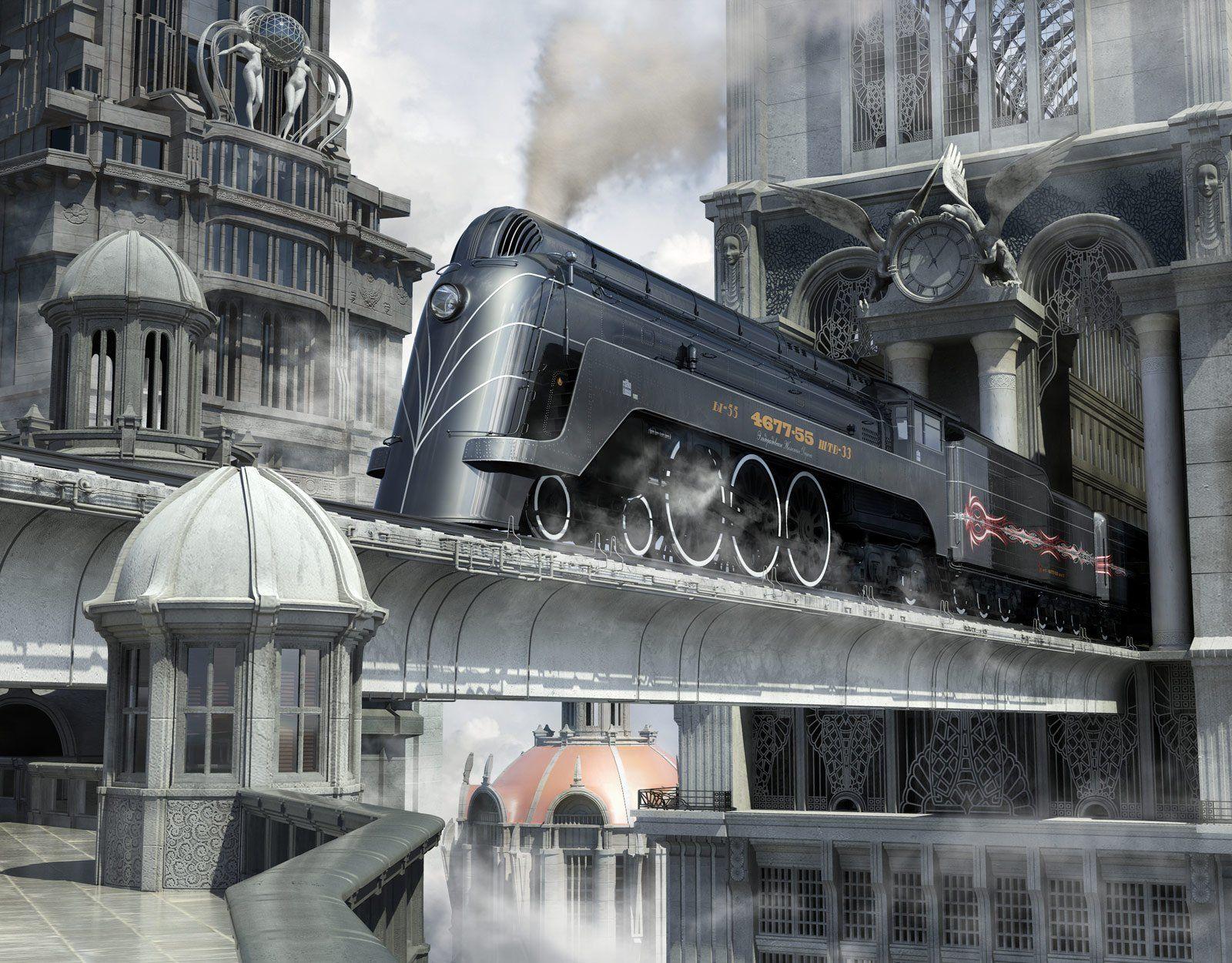Result Fantasy Train Station