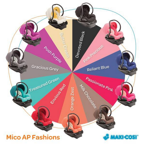 Maxi Cosi Mico Ap Infant Car Seat Review Giveaway Baby