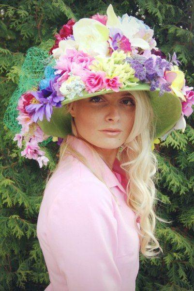 Crazy flower hat by ZHAKOVA ANNA #millinery #HatAcademy