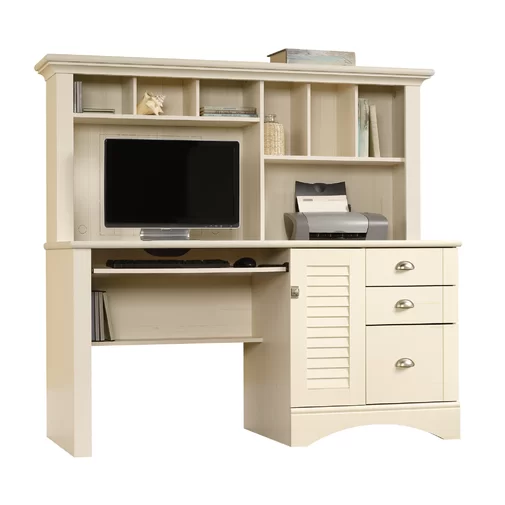 Pinellas Desk With Hutch Reviews Joss Main White Computer